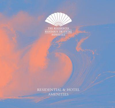 The Residences at Mandarin Oriental Honolulu, Glimpse of Residential Amenities