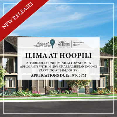 Ilima at Hoopili Affordable Lottery | October 12, 2019