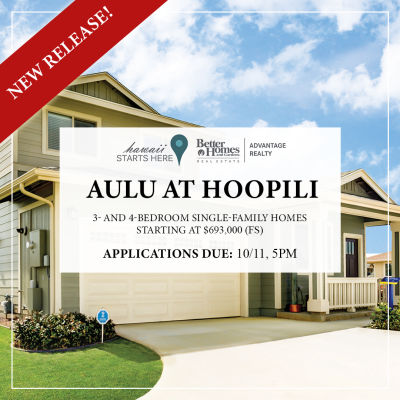 Aulu at Ho'opili Lottery | October 12, 2019