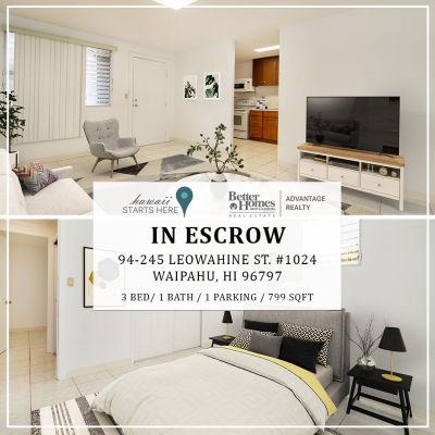 In Escrow: 94-245 Leowahine St. #1024
