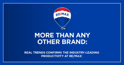 RE/MAX On the River makes REAL Trends 500 List!