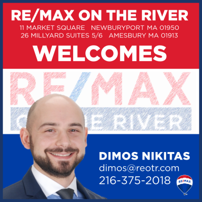 RE/MAX On the River Welcomes Dimos Nikitas