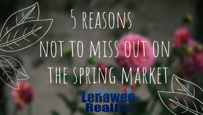 5 Reasons not to Miss Out This Spring