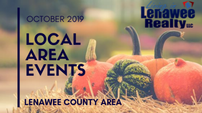 October Lenawee County Events