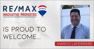 Marco Laferriere Joins RE/MAX Innovative Properties