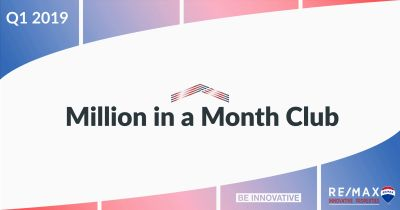 The 2019 Q1 Million in a Month Club