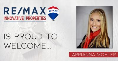 Arrianna Mohler Joins RE/MAX Innovative Properties