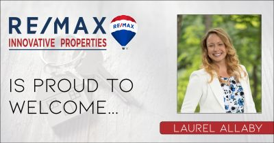 Laurel Allaby Joins RE/MAX Innovative Properties
