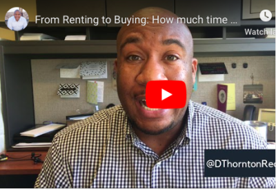 From Renting to Buying: How much time do I need?