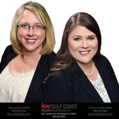 Tracy Jackson and JoAnna Hackett, Brokers