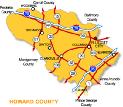 Clarksville is a Super Zip Area in Howard County, Maryland