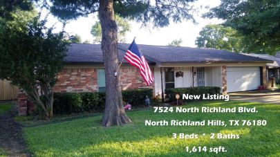Renovated 3 Bed 2 Bath Home for Sale in North Richland Hills