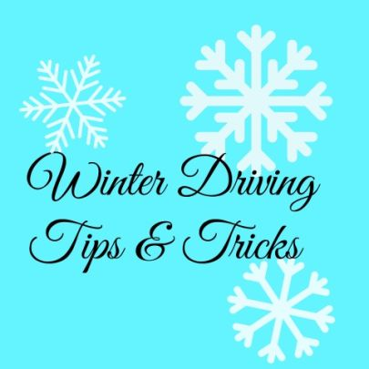Winter Driving Tips and Tricks