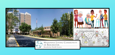 One of the Greatest Gifts, is Giving Your Time; Madonna Living Community