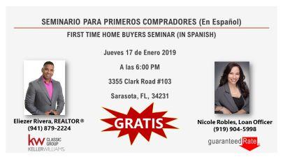 First Time Home Buyer Class EN ESPAÑOL