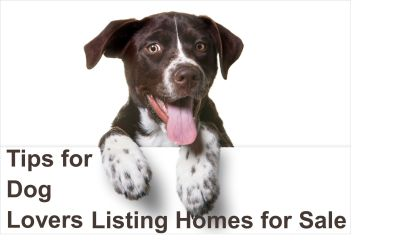 Helpful Tips for Dog Lovers Who are Listing Their Homes for Sale