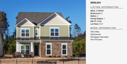 343 Delburg Street Davidson NC – New Constuction