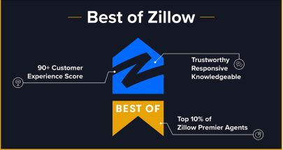 Best of Zillow Designation Awarded to Top Agent Jonathan Slater — Scores in Top 2%