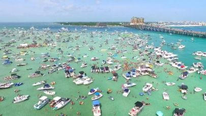 Looking for something to do in Destin, FL Checkout Crab Island.