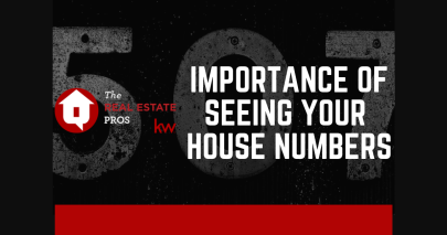Importance of Seeing Your House Numbers