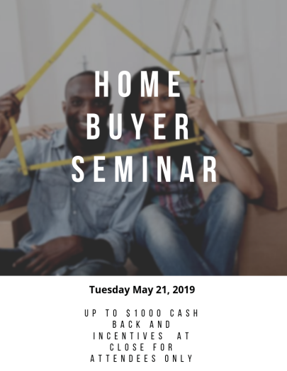 My First Time Home Buyer Seminar