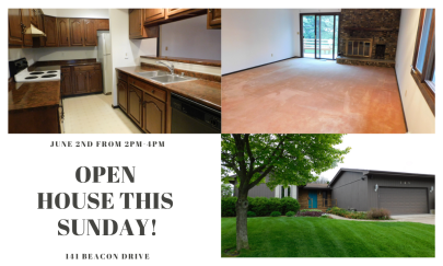 Open House: June 2nd 2019