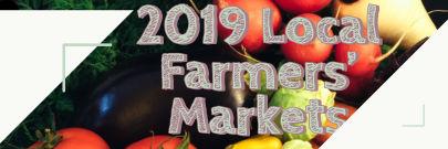 2019 Local Farmers' Markets