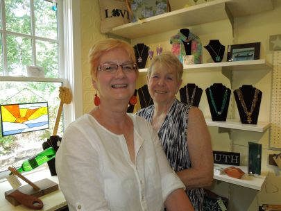 Jackson Square Artisans – Meet the Owners Gloria Watanabe and Janet Nelson