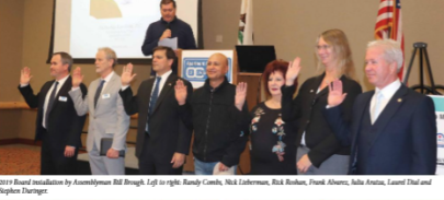 Randy Combs Installed as AAOC Board Member