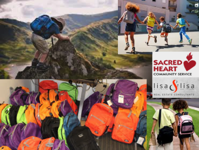 Lisa & Lisa partners with Sacred Heart 2019 Pack a Back Campaign!!!