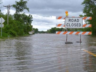 How to (Not) Drive on a Flooded Road