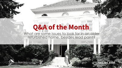 What to be Wary About With a an Older Home