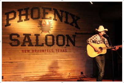 New Braunfels Entertainment:  The Phoenix Saloon