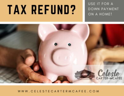 Using your tax refund to purchase a home is pure genius!