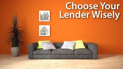 Finding the right lenders