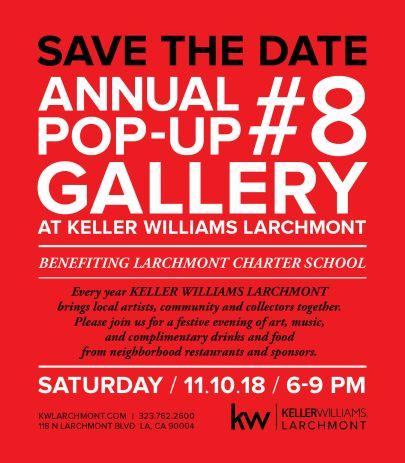 Larchmont 8th Annual Art Pop-Up!