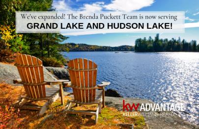 Now Serving Grand Lake and Hudson Lake!