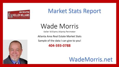 Selected Atlanta Area 2017 Real Estate Market Stats