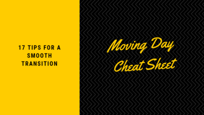Moving Day Cheat Sheet
