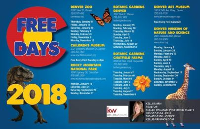 Free Days in Denver, CO