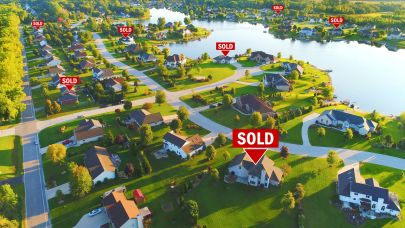 U.S. Home Sales Rise Boosted by Plummeting Mortgage Rates
