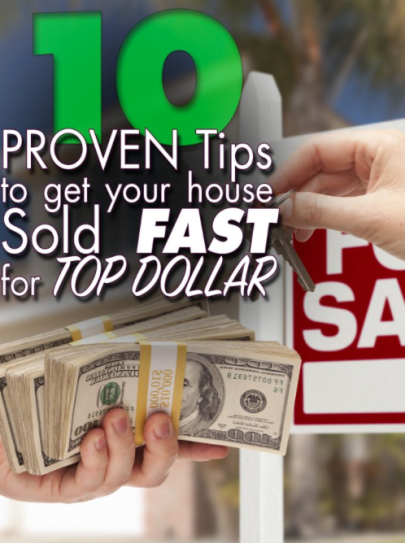Tia Tidbit: 10 best things to do that will get your house ready to sell FAST and for the right price.