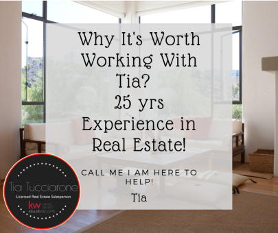 Tia Tidbit:  Why It's Worth Working With: Tia an Experienced Real Estate!
