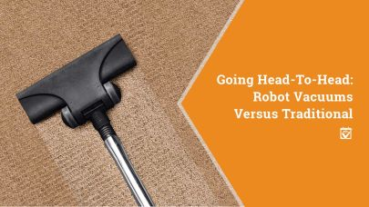 Robot v. Traditional Vacuums