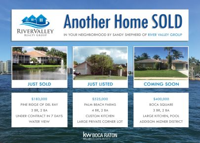 Homes in Boca are SELLING! And we are selling them!