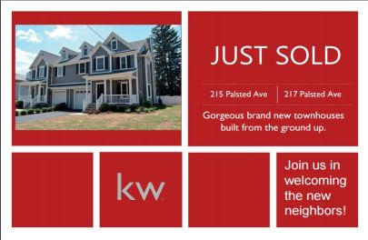 Just Sold! 215 & 217 Palsted Avenue, Westfield, NJ