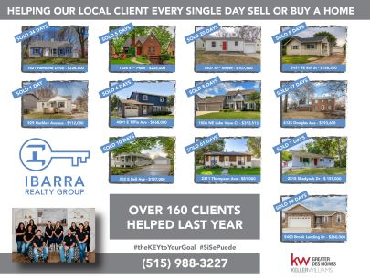 Helping Our Local Client Every Single Day Sell or Buy a Home