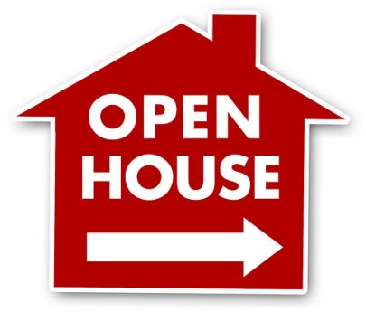 OPEN HOUSE! SATURDAY, Oct. 22, 10am-1pm