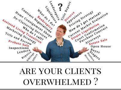 Are your clients overwhelmed?