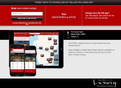 Looking for your dream home? Download my App!
